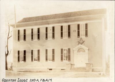 Odenton Masonic Lodge - Year 1912