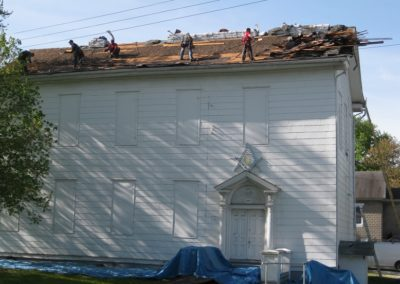 Odenton Heritage Society Historical Center getting a face lift (former Masonic Lodge)