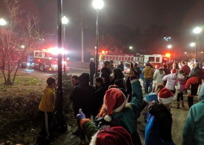 Santa has arrived 2018 Tree Lighting
