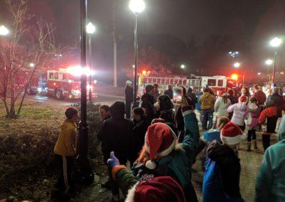 Santa has arrived 2018 Tree Lighting